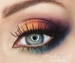 best eye makeup ideas for blue eyes amazing rainbow