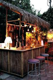 outdoor bar sets bars home plans new best ideas patio tiki pool