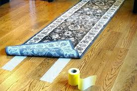 keep rug from sliding on carpet nonslip rugs stop area how to furniture wood floors flooring