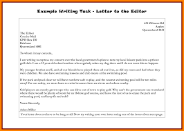 Best Ideas of Sample Format A Letter To The Editor Also Download Proposal