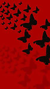 Red Butterflies Wallpaper posted by ...