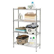 elegant 18 inch deep shelves lovely realspace wire shelving 4 shelves 54 h x 36 w x 14