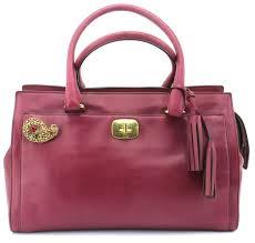 ... closeout coach satchel in pink 2f8cb e7ea1