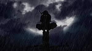 Uchiha Itachi In The Rain' Gif (live ...