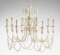 florine 9 light large wood and iron chandelier