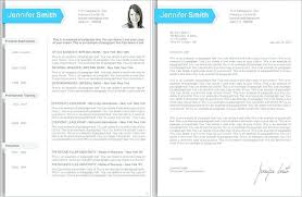 Two Page Cv Template Sample 2 Resume A One Html Free Download