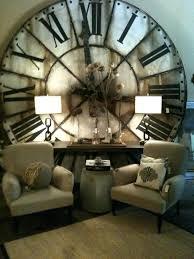 oversized outdoor wall clocks clocks large vintage