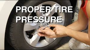 Goodyear Wrangler Tire Pressure Chart What Is The Proper Tire Pressure