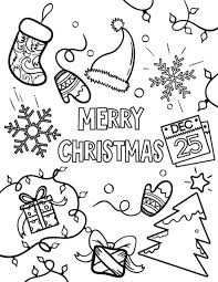 Small Picture Free Printable Santa Merry Christmas Xmas Coloring Pages Sheets