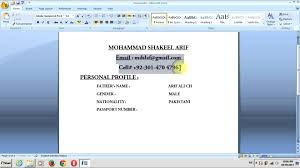 Resumes How To Make Resume On Word Microsoft Mac In Ms 2010 A 2003