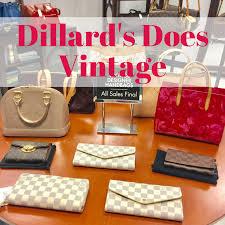 dillards vintage