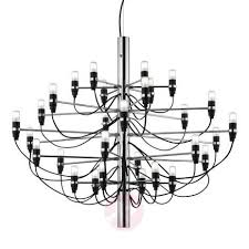 2097 50 lamp chandelier by flos