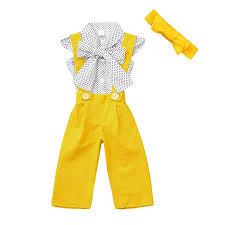 Toddler Girl Britpop Style Elegant Dot Print Pure ... - Amazon.com