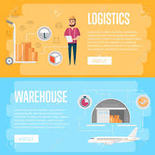 Commercial Flyers Warehouse Logistics And Management Flyers Commercial Freight