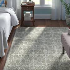 light gray area rug 9x12 mills