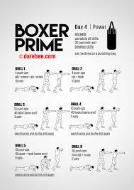 boxer prime 30 day fitness program