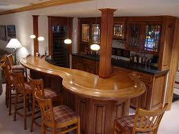 bar in basement ideas. decoration: wooden mini bar cabinet storage in home basement feat six barstool set and ideas