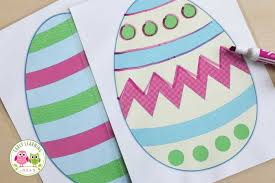 Be sure to include a variety of activities regardless of the level of your. How To Use These Free Printable Easter Activities For Pre Writing Practice Early Learning Ideas