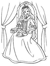 Small Picture Printable Disney Cartoon Princess Barbie Doll SheetDisney