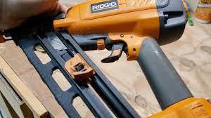 air leak in my ridgid r250afa nail gun