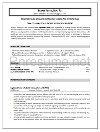 example resume for nurses  long term care nurse resume template    new grad rn resume examples
