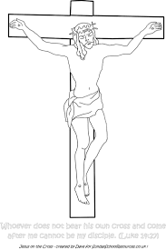 Sunday School Coloring Page Jesus On