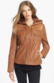 michael michael kors leather moto jacket 8 00 quickview michael michael kors michael michael kors faux fur cape