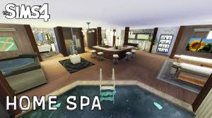 Small Picture The Sims 4 Room Design Home Spa YouTube