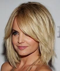 Hairstyles Mid Length Layered Bobll