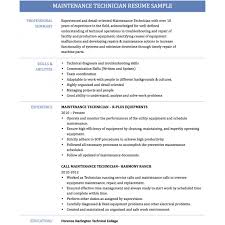 Electrical Technician Resume Sample Industrial Electrician Resume Sample Examples Apprentice Unique 39