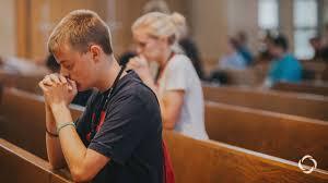 Youth teens prayer chaplain