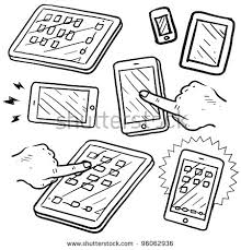 stock vector doodle style mobile devices and smartphones in vector format 96062936 doodle style mobile devices smartphones vector stock vector on mobile device management policy template