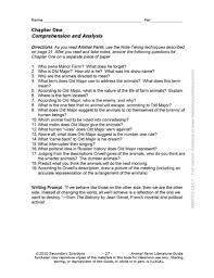 animal farm common core aligned literature guide pdf