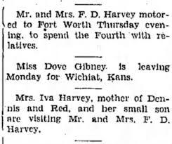 F. D. Harvey and Iva Harvey - Newspapers.com
