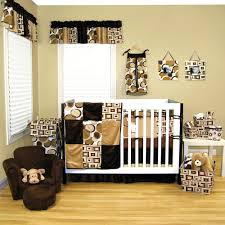 leopard print crib bedding sets attractive unisex nursery room design  inspiration presenting attractive unisex nursery room