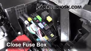 replace a fuse 2013 2016 nissan pathfinder 2013 nissan 6 replace cover secure the cover and test component
