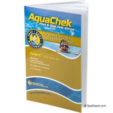 Aquachek Select Color Chart Aquachek Chlorine Bromine 7 In 1 Test Strips Kit