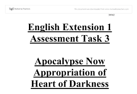 apocalypse now appropriation of heart of darkness gcse english  document image preview
