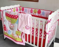 baby bedding set embroidery 3d hot air balloon rabbit fox owl baby crib bedding set bedskirt quilt per crib bedding set bedding sets girls kids duvet