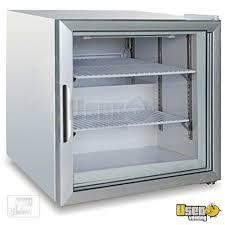 metalfrio 22 1 2 glass door countertop freezer for in new york