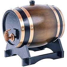storage oak wine barrels. Oak Barrels 5L Wooden Barrel For Storage Or Aging Wine \u0026 Spirits Vintage Style Tabletop