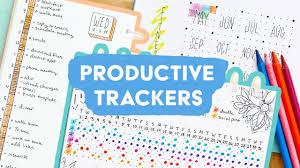 My Favorite Bullet Journal Trackers For Productivity Sea Lemon