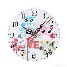 clocks decorative owl shaped quartz