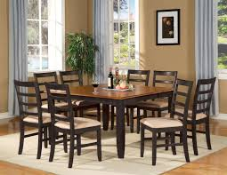 squre diing room tables pc square dinette dining room table set and 8 chairs ebay