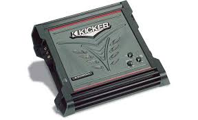 kicker zx mono subwoofer amplifier watts rms x at  kicker zx400 1 amplifier