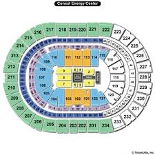 Pittsburgh Ppg Arena Seating Chart 22 Clean Consol Arena Seating Chart