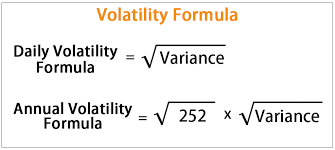 Variance Formula Volatility Formula How To Calculate Daily Annualized