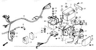 honda atv parts 1987 trx125 a wire harness diagram