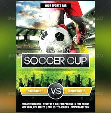 soccer team brochure template football game flyer template poster team wiini co
