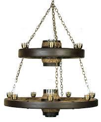 wagon wheel chandeliers double tier lantern reion cast in wagon wheel chandelier inspirations small wagon wheel